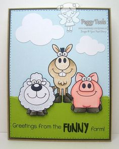 Funny Farm  : Your Next Stamp