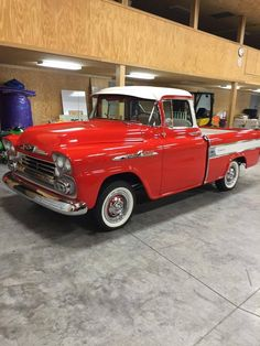 1958 Chevrolet Apache Cameo Fuelie