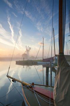 Summer Dawn, Norfolk Broads