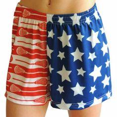 Amazon.com: Sportabella Women's USA Lacrosse Short: Clothing