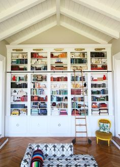 Unpack your books. | 23 Ways To Make Your New Place Feel Like Home