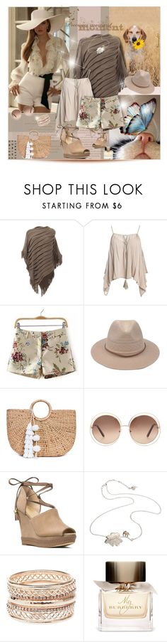 """""""Precious moment..."""" by nannerl27forever ❤ liked on Polyvore featuring Joe Browns, Sans Souci, JADE TRIBE, Chloé, MICHAEL Michael Kors, By Emily, Charlotte Russe and Burberry"""