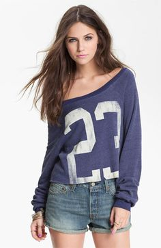 Project Social T '23' Graphic Varsity Sweatshirt (Juniors) available at #Nordstrom
