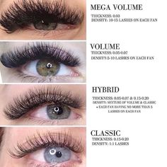 There are many kinds of eye beauty, the one you like is the best . by Eyelashes Company Types Of Eyelash Extensions, Volume Lash Extensions, Hair Extensions Tutorial, Feuille D'or Rose, Wispy Lashes, Big Lashes, Individual Lashes, Natural Lashes, Makeup Tips