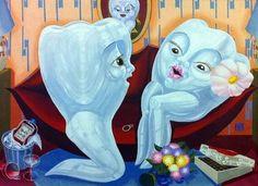 Dentaltown - Caption Contest: Man & Woman Molar Romance.