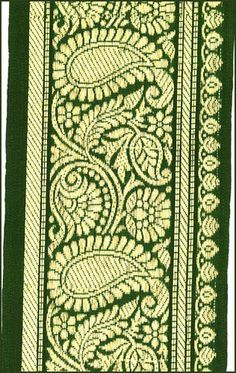 Irish Celtic Ring Green Gold Crafters Tapestry Pillow Shell Fabric Remnant