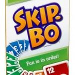 SKIP BO Card Game- Develop cards in specific orders, a great family game
