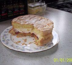 My mother's fatless sponge recipe - Recipes - BBC Good Food Cake Recipes Bbc, Kiwi Recipes, Bbc Good Food Recipes, Baking Recipes, Dessert Recipes, Yummy Recipes, Free Recipes, Recipies, Sponge Recipe