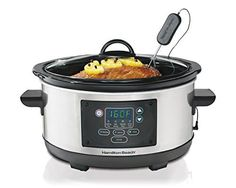 Hamilton Beach Slow Cooker Programmable 5 Quart Set & Forget (33958A) #cooking #cookware #kitchen