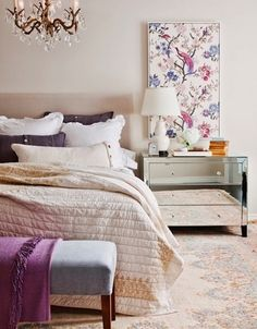 Is it bedtime yet? This lovely design is warm and cozy and will have you anxiously looking forward to bedtime!