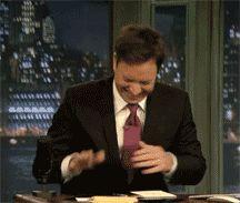 I love his laugh. It's contagious :)
