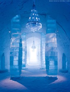 Stay at the Ice Hotel