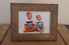 Check out this item in my Etsy shop https://www.etsy.com/listing/462376851/5x7-barn-wood-style-picture-frame