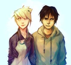 Will you just look into each other's eyes already by forgottenpantaloons on DeviantArt