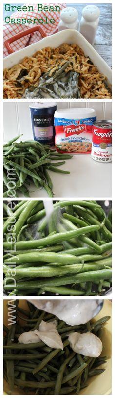 How to make Green Bean cassarole