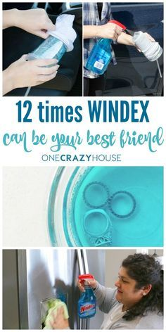When you're a busy mom, you don't have to find the right cleaner out of 10 different products to wipe up that spill or get your kids' fingerprints off the appliances again. Windex is the cleaner that we reach for over and over again. It's not just for windows! It cleans, it shines. It works! Here are 12 Windex uses you need to add to your cleaning arsenal.