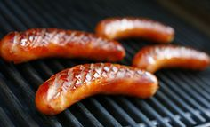 Today is the eve of Juhannus, the celebration of the mid-summer solstice. Well, the solstice was technically a few days ago, but this is the. Grilled Sausage, Hot Sausage, Scandinavian Food, Places To Eat, Food Inspiration, Food Photography, Yummy Food, Favorite Recipes, Summer Solstice