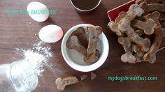 grain free dog bones. Mine will be dipped in yogurt coating for Finnegan's Christmas present.