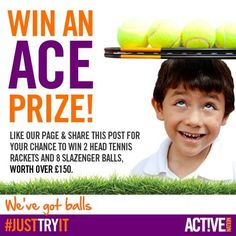 Like the Facebook page www.facebook.com/activenationuk and share the competition post for your chance to win! #competition