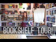 Bookshelf Tour 2015! - YouTube