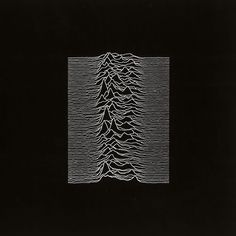 Joy Division - Unknown Pleasures Best Album Covers, Art | Greatest of All Time| #albumCover #musicisart