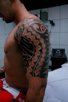Maori Arm Tattoo.