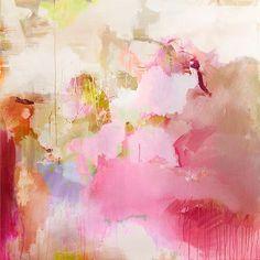 Abstrakt fargeharmoni 1x1m