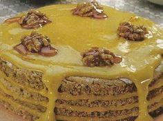 Portuguese Desserts, Portuguese Recipes, Portuguese Food, No Bake Desserts, Easy Desserts, Sweet Recipes, Cake Recipes, Food C, Brownies