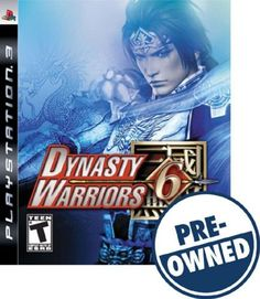 Dynasty Warriors 6 — PRE-Owned - PlayStation 3