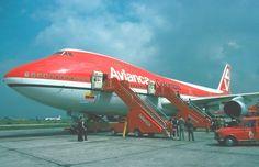 Jumbo 747 de Avianca