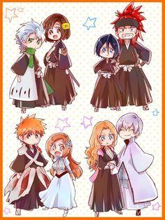 Bleach// Orihime,Ichigo, Rukia, Renji, Gin, Matsumoto, Toshiro and Hinamori