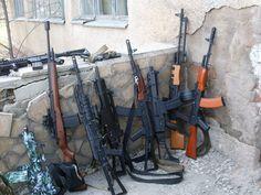 alcuni dei miei fucili