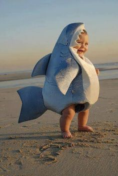 Is it wrong that I want a child if for no other reason than to dress him up like a shark?