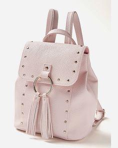 Stud & Tassel Mini Backpack. Fashion Bags, Fashion Backpack, Justice Bags, E Claire, Justice Accessories, Baby Doll Accessories, Trend Accessories, Trendy Purses, Mini Backpack Purse