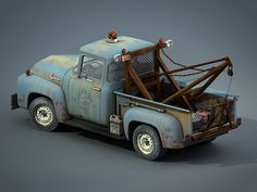 Wip F100 Wrecker Textured by Russ Schwenkler