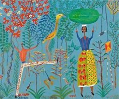 Feliciano Carvallo Venezuelan painter naive Catia la Mar Naiguata 2012 Central Coast) Self-taught, from humble. Art History Major, South American Art, Cave Drawings, Scandinavian Folk Art, Art Brut, Living Room Art, Outsider Art, Illustration Art, Beautiful