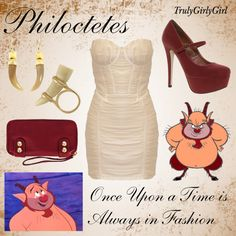 """""""Disney Style: Philoctetes"""" by trulygirlygirl ❤ liked on Polyvore"""