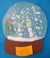 Art with Mrs. Nguyen: Snowglobes (1st)