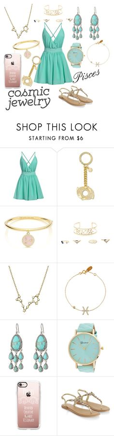 """""""100% Pisces ♓"""" by eirinimaria ❤ liked on Polyvore featuring MICHAEL Michael Kors, Kate Spade, Charlotte Russe, Bling Jewelry, Lucky Brand, Casetify and Accessorize"""