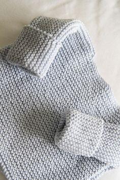 The Bra Birth Baby Sweater by Granny knits *Free Pattern