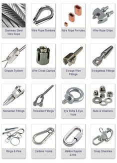 Rigging Equipment and Fittings
