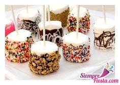 Snacks y bocadillos para tus fiestas infantiles.