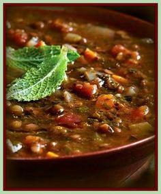 Sopa persa de lentilha   RECEITASDMAIS.com