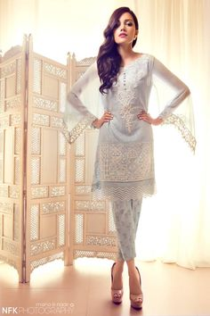 Show Mall and Bridal Dresses Online : Elan Summer Collection Pakistani Couture, Indian Couture, Pakistani Outfits, Indian Outfits, Ethnic Fashion, Asian Fashion, Latest Fashion, Fashion Trends, Summer Dresses 2014