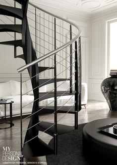 Stairs, Loft, Modern, Home Decor, Ideas, Interior Stairs, Interior Design, Grand Entryway, Snails
