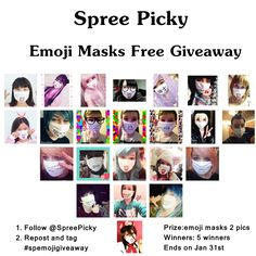 Join the giveaway! Follow @SpreePicky! Repost and tag #spemojigiveaway