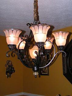 Dining Room Light Redo