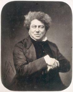 PORTRAIT D'ALEXANDRE DUMAS PÈRE.   NADAR (Gaspard Félix TOURNACHON, dit) (1820 - 1910)