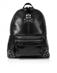 'London Grammar' Skull Backpack ~ Philipp Plein