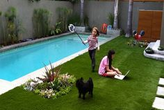 Decorating ideas small pool landscaping yard - Home Improvement ...